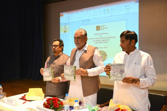Inaugurated a National Workshop on improving Feed Production Efficiency  3
