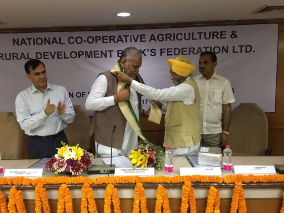 Y\'day I was invited to by National Co-operative Agriculture 2