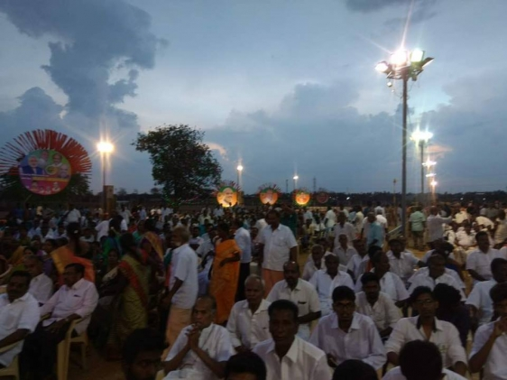 at Dharampuram in Tamilnadu attended Kisan Sammelan 3